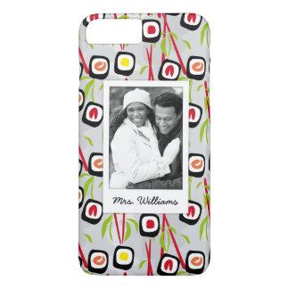Sushi Design Pattern   Monogram iPhone 8 Plus/7 Plus Case