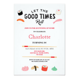 Japanese Birthday Invitations Announcements Zazzle Canada - Birthday invitation in japanese