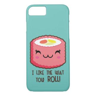 Sushi Emoji Roll iPhone 8/7 Case