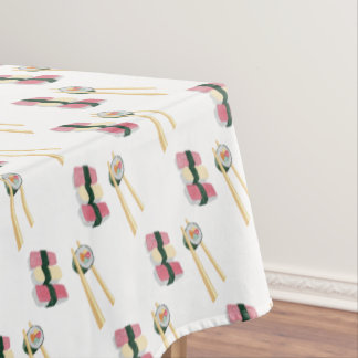 Sushi Foodie Hipster Tablecloth