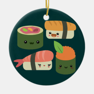 Sushi Friends Ceramic Ornament