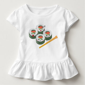 Sushi friends toddler t-shirt