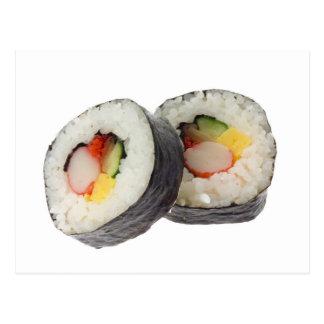 Sushi - Futomaki Postcard