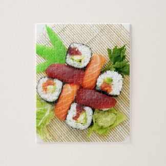 Sushi Japanese Delicious Asian Food Yummy Puzzle