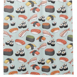 Sushi japanese food pattern
