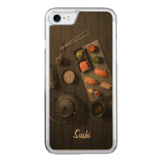 Sushi Japanese Ritual Carved iPhone 8/7 Case