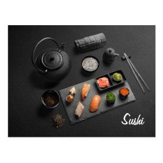 Sushi Japanese Ritual Postcard
