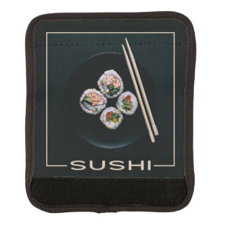 Sushi luggage handle wrap