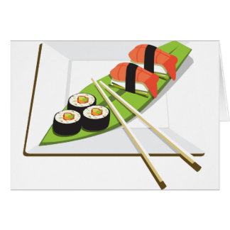 Sushi Meal Card