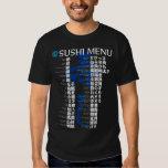 Sushi menu-Jpanese Tees