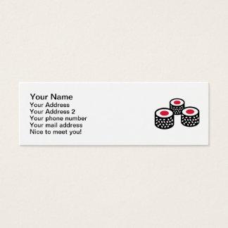 Sushi Mini Business Card