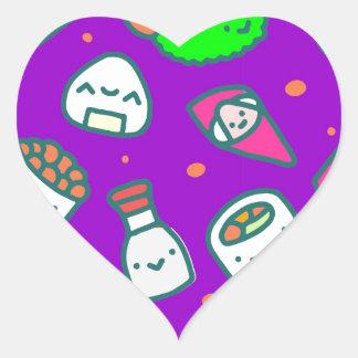 Sushi Moki Heart Sticker