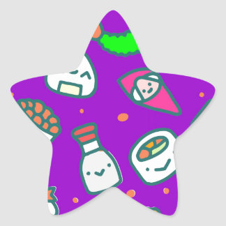 Sushi Moki Star Sticker