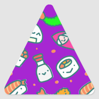 Sushi Moki Triangle Sticker