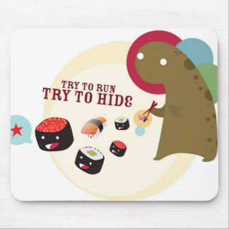 Sushi Monster Mousepad