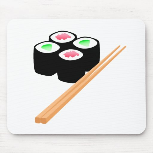 Sushi Mouse Pads