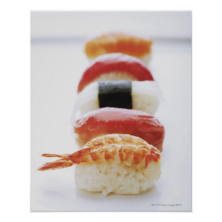 Sushi, Nigiri, close-up Poster
