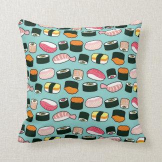 Sushi Oishii (Blue) Pillow