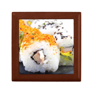 Sushi on a plate trinket boxes
