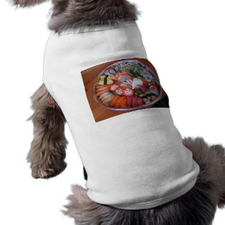 Sushi Party Plate Print Gifts Tees & Cards Pet Clothes