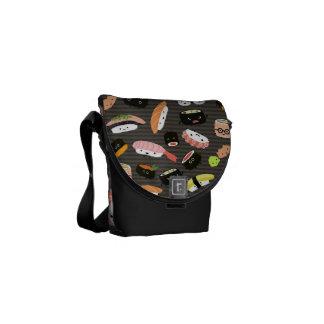 Sushi Party - Sushi Rolls, Sashimi, Wasabi, Ginger Commuter Bags