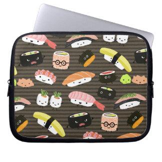 Sushi Party - Sushi Rolls, Sashimi, Wasabi, Ginger Laptop Sleeve
