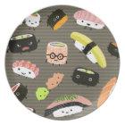 Sushi Party - Sushi Rolls, Sashimi, Wasabi, Ginger Plate
