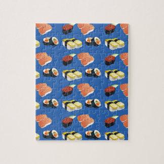 Sushi pattern jigsaw puzzle