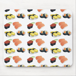 Sushi pattern mouse pad
