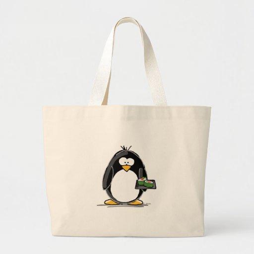 Sushi Penguin Tote Bag