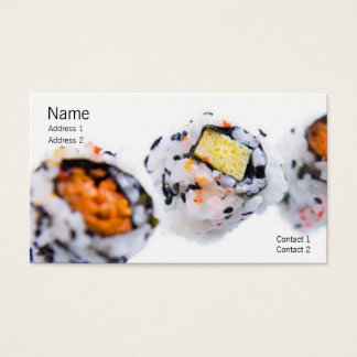 Sushi Profile Card