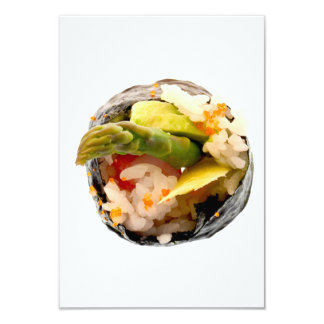 Sushi Roll Asparagus Rice Japanese Food Template