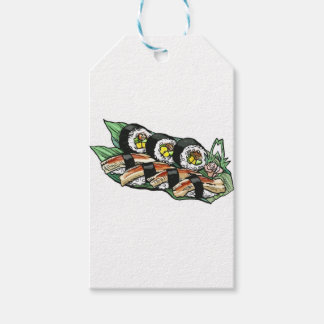 Sushi Roll Gift Tags