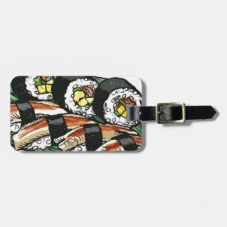 Sushi Roll Luggage Tag