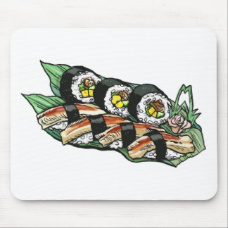 Sushi Roll Mouse Pad