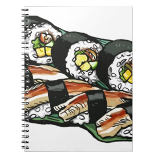 Sushi Roll Notebook