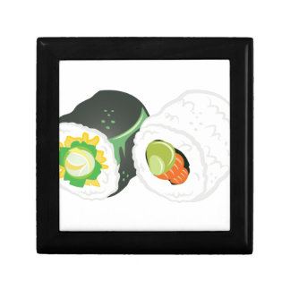 Sushi Rolls Jewelry Boxes