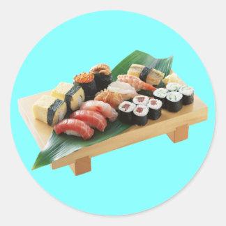 Sushi Round Sticker