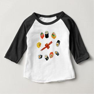 Sushi Set Watercolor2 Baby T-Shirt