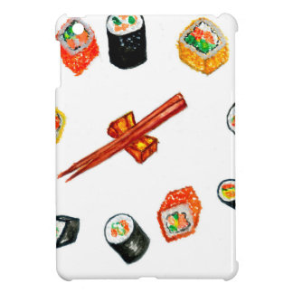 Sushi Set Watercolor2 iPad Mini Case