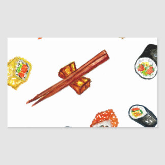 Sushi Set Watercolor2 Sticker