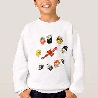 Sushi Set Watercolor2 Sweatshirt