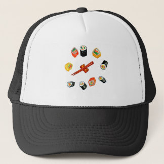 Sushi Set Watercolor2 Trucker Hat