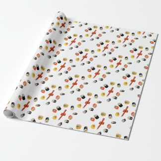 Sushi Set Watercolor2 Wrapping Paper