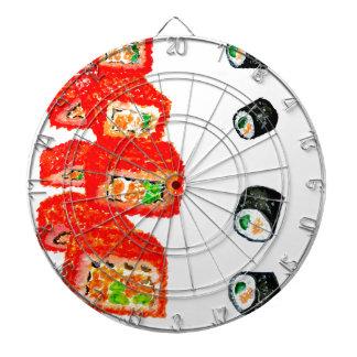 Sushi Set Watercolor3 Dartboard