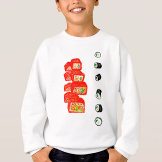 Sushi Set Watercolor3 Sweatshirt