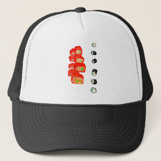 Sushi Set Watercolor3 Trucker Hat