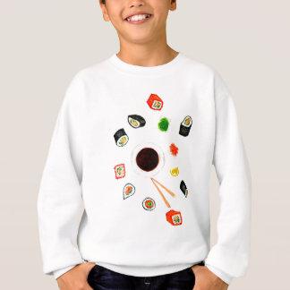Sushi Set Watercolor Sweatshirt