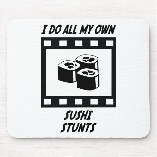 Sushi Stunts Mouse Pad