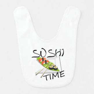 Sushi Time Bib